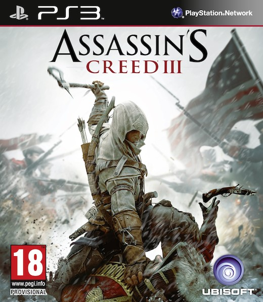 Boxart van Assassin's Creed III (PS3), Ubisoft
