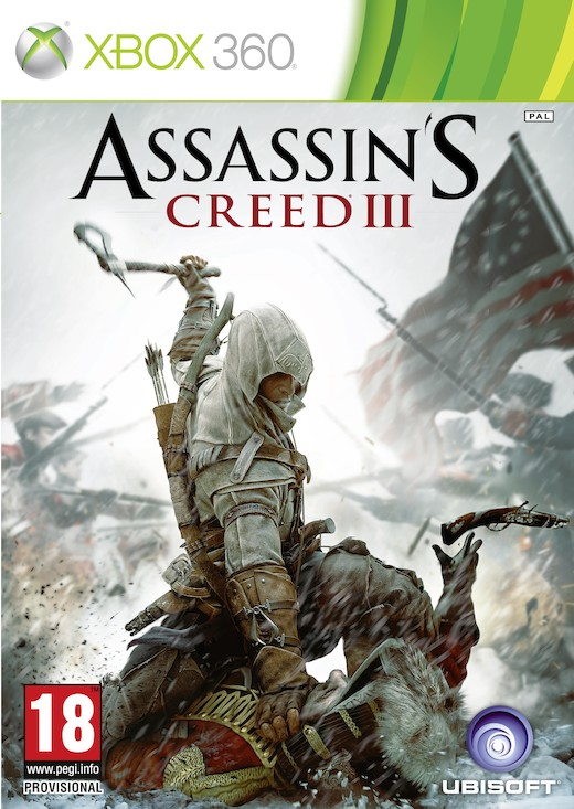 Boxart van Assassin's Creed III (Xbox360), Ubisoft