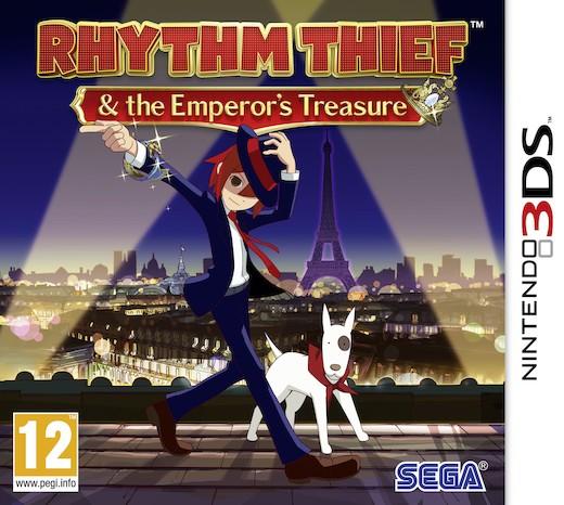 Boxart van Rhythm Thief & the Emperors Treasure (3DS), SEGA