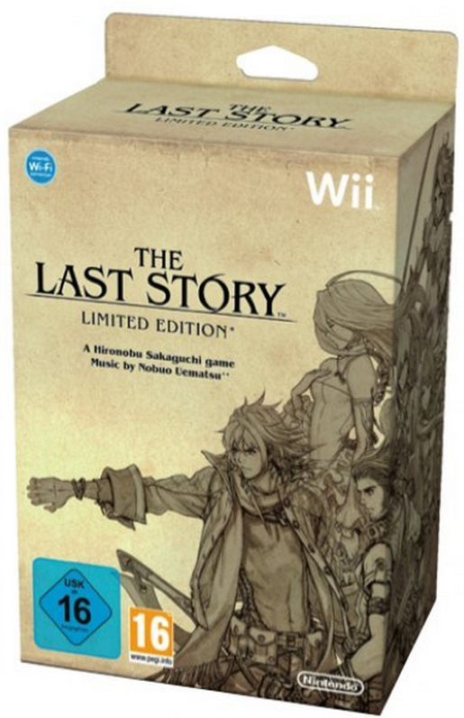 Boxart van The Last Story Limited Edition (Wii), Mistwalker