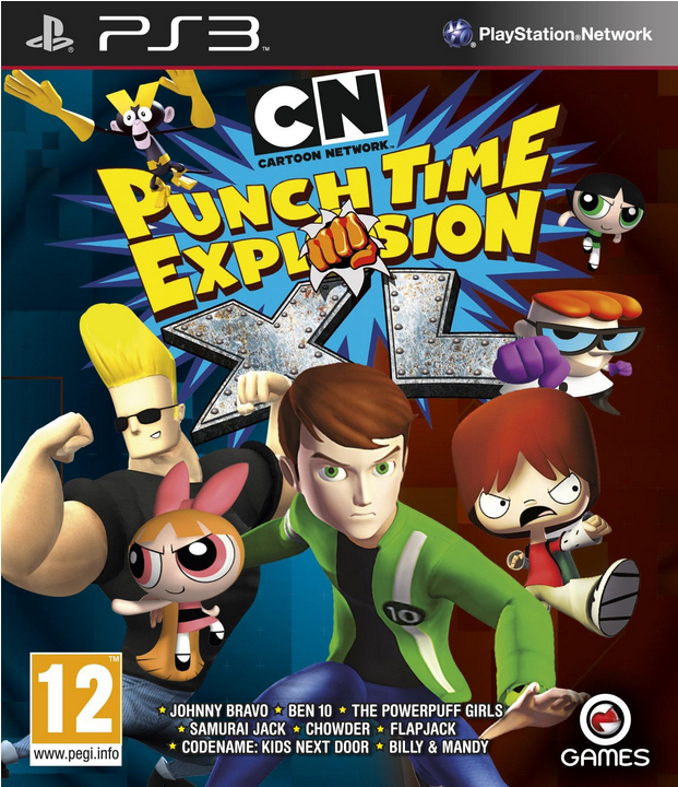 Boxart van Cartoon Network: Punch Time Explosion XL (PS3), OG International