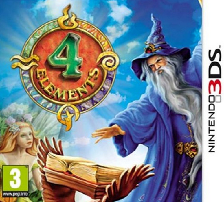 Boxart van 4 Elements (3DS), Easy Interactive