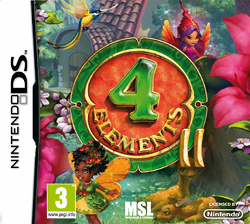 Boxart van 4 Elements 2 (NDS), Playrix