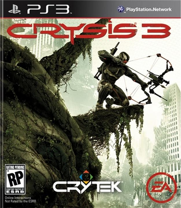 Boxart van Crysis 3 (PS3), Crytek Studios