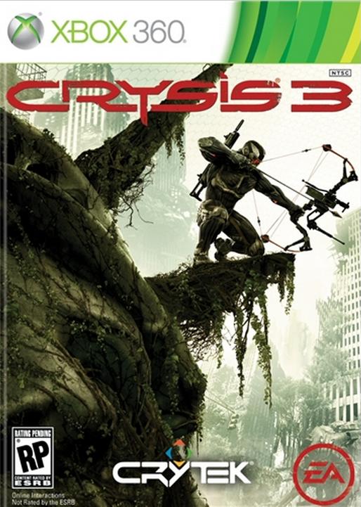 Boxart van Crysis 3 (Xbox360), Crytek Studios