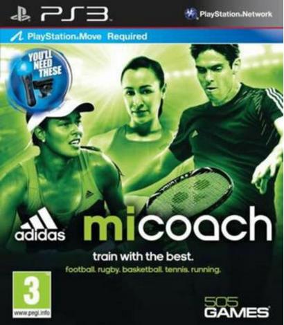 Boxart van Adidas miCoach: The Basics (PS3), THQ