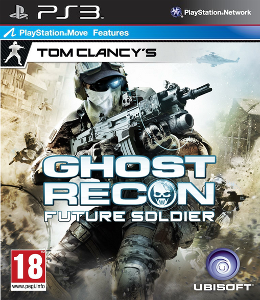 Boxart van Tom Clancy's Ghost Recon: Future Soldier (PS3), Ubisoft