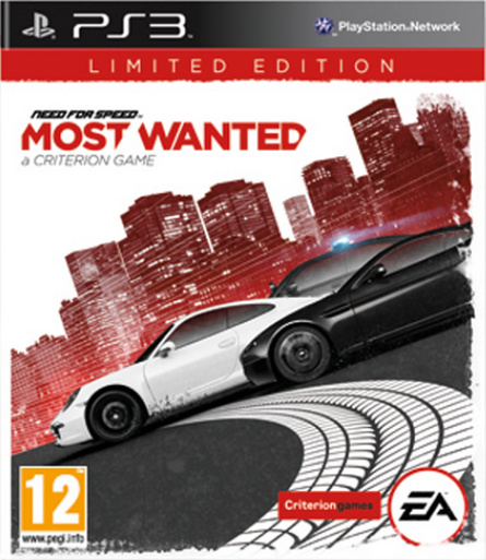 Boxart van Need for Speed: Most Wanted (2012) Limited Edition (PS3), Criterion Studios