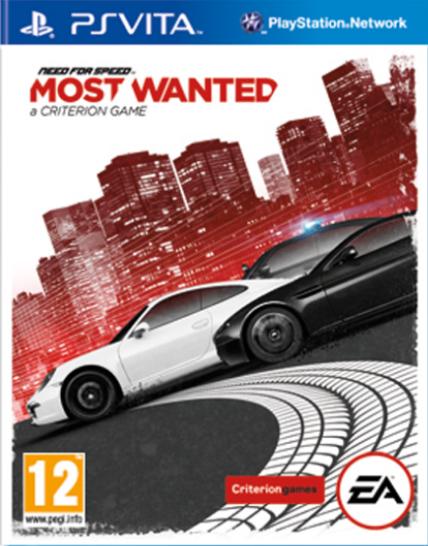 Boxart van Need for Speed: Most Wanted (2012) (PSVita), Criterion Studios