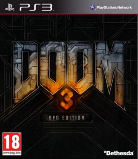 Boxart van Doom 3 BFG Edition (PS3), id Software