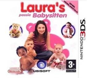 Boxart van Laura's Passie: Babysitten 3D (3DS), Ubisoft