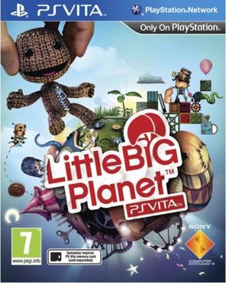 Boxart van LittleBigPlanet (PSVita), XDev Studios Europe
