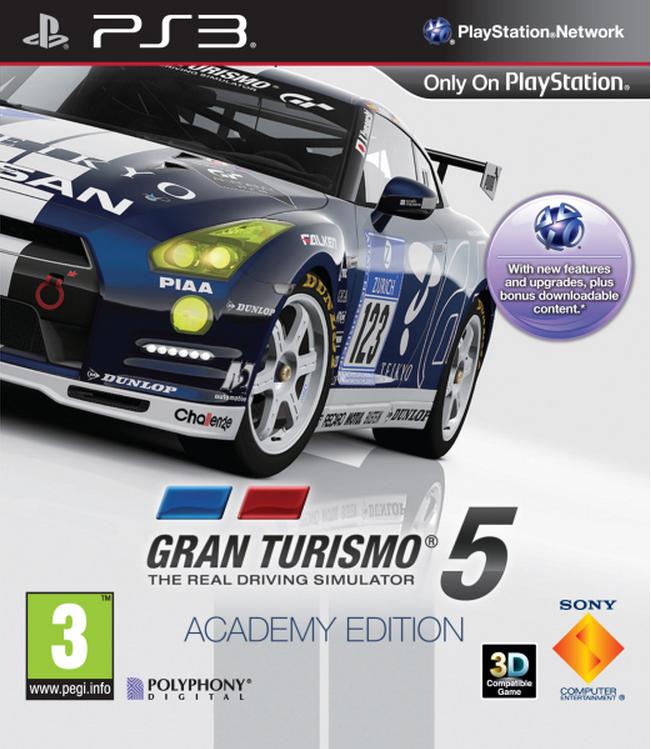 Boxart van Gran Turismo 5 Academy Edition (PS3), Polyphony Digital