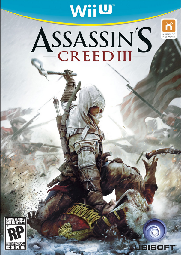 Boxart van Assassin's Creed III (Wiiu), Ubisoft