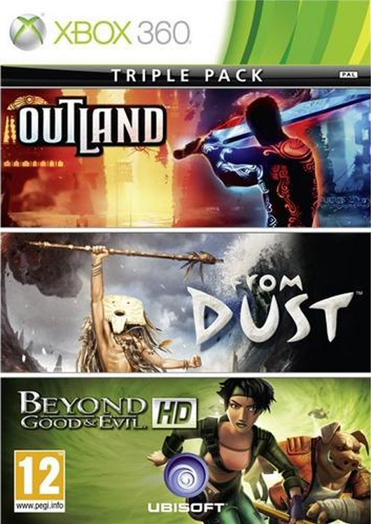 Boxart van Beyond Good and Evil/Outland/From Dust (Xbox360), Ubisoft