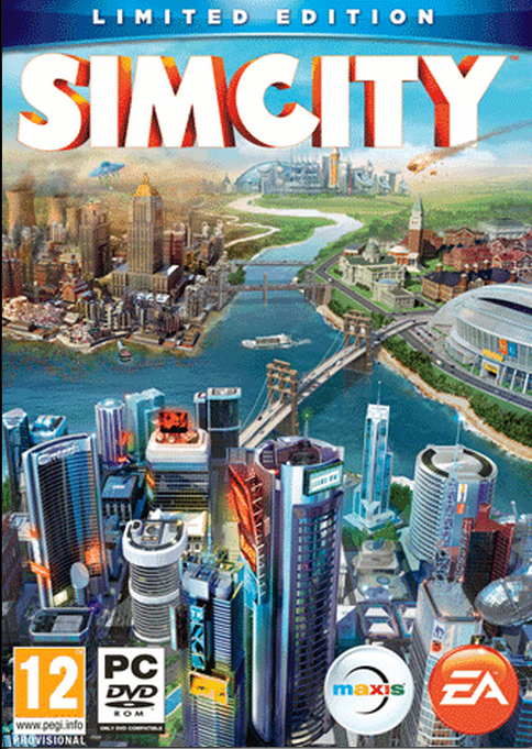 Boxart van SimCity Limited Edition (PC), Maxis