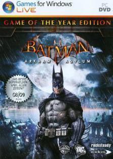 Boxart van Batman: Arkham Asylum Game of the Year Edition (PC), Rocksteady Studios