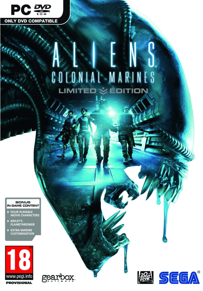 Boxart van Aliens: Colonial Marines Limited Edition (PC), Gearbox Software