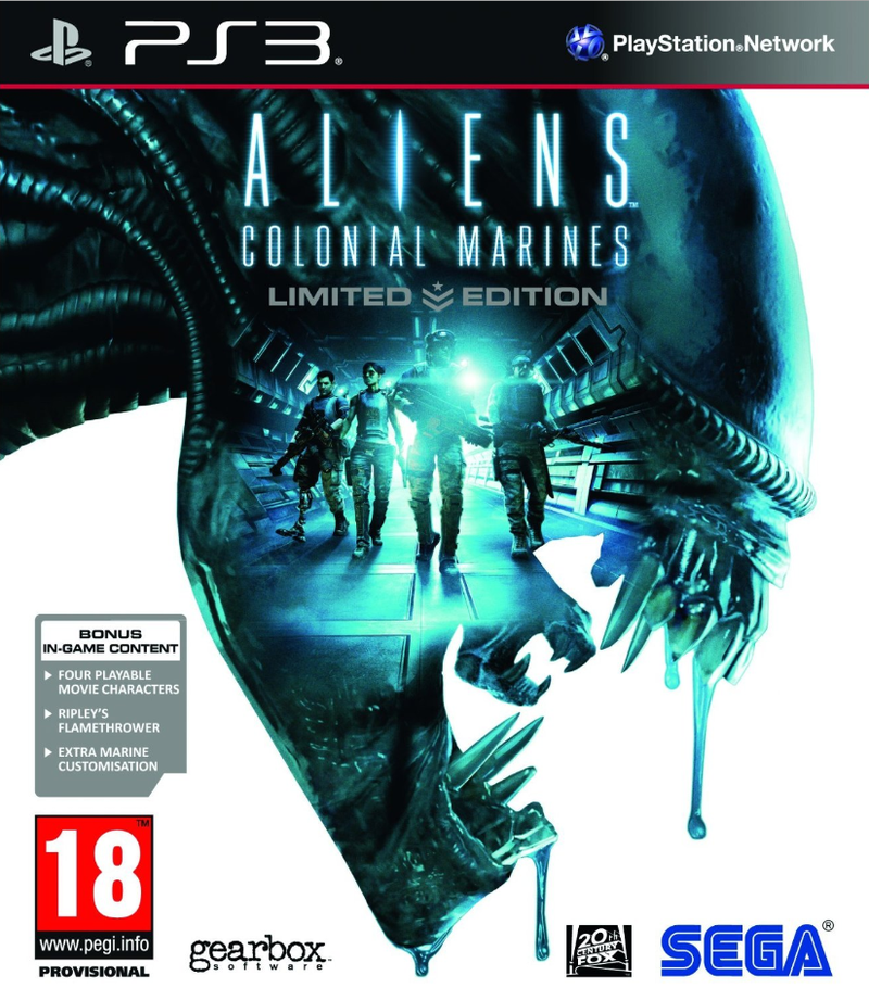 Boxart van Aliens: Colonial Marines Limited Edition (PS3), Gearbox Software