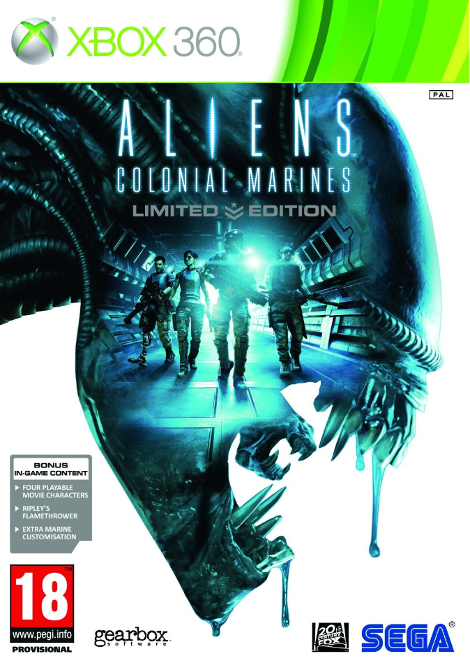 Boxart van Aliens: Colonial Marines Limited Edition (Xbox360), Gearbox Software