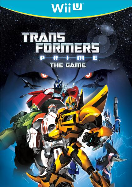 Boxart van Transformers Prime (Wiiu), Now Production