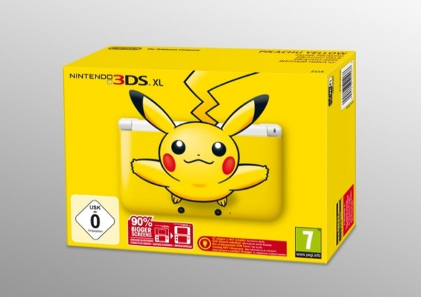 Nintendo 3DS XL Console Pikachu Limited Edition