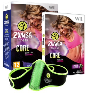 Boxart van Zumba Fitness: Core + Belt (Wii), 505 Games