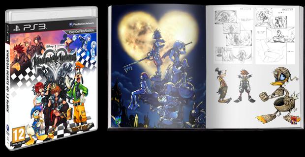 Boxart van Kingdom Hearts HD 1.5 Remix Limited Edition (PS3), Square Enix