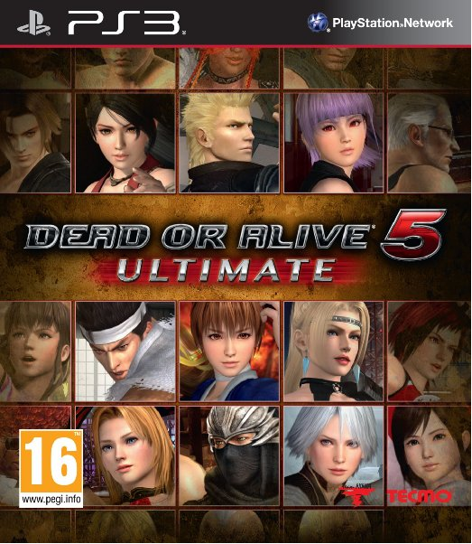 Boxart van Dead or Alive 5 Ultimate (PS3), Team Ninja