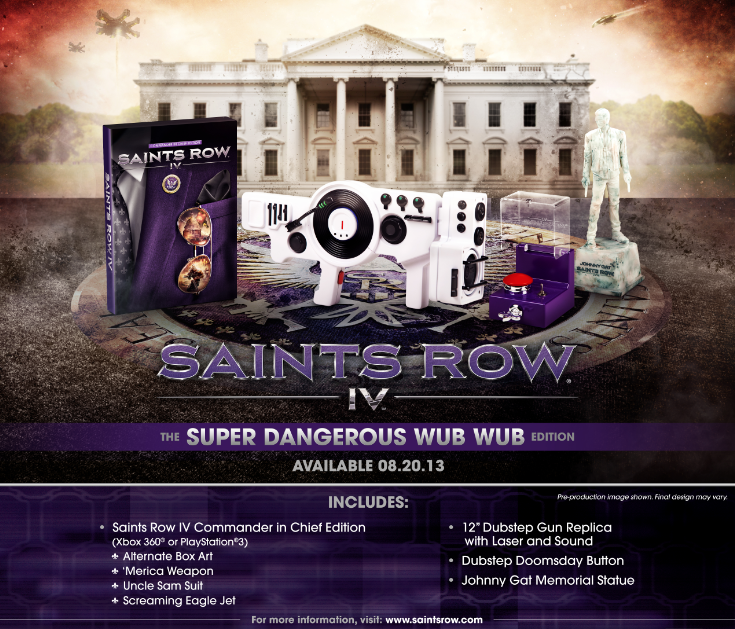 Boxart van Saints Row IV Collectors Edition (PS3), Deep Silver