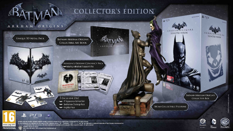 Boxart van Batman: Arkham Origins Collectors Edition (PS3), Warner Bros Montreal