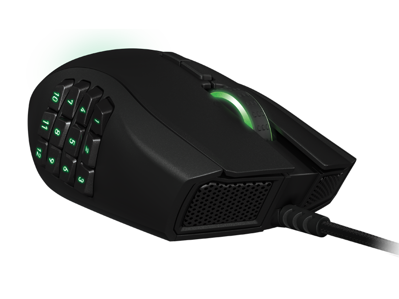 Boxart van Razer Naga Expert MMO Gaming Mouse (PC), Razer