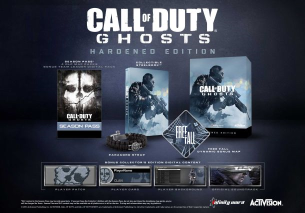Boxart van Call of Duty: Ghosts Hardened Edition (Xbox360), Infinity Ward