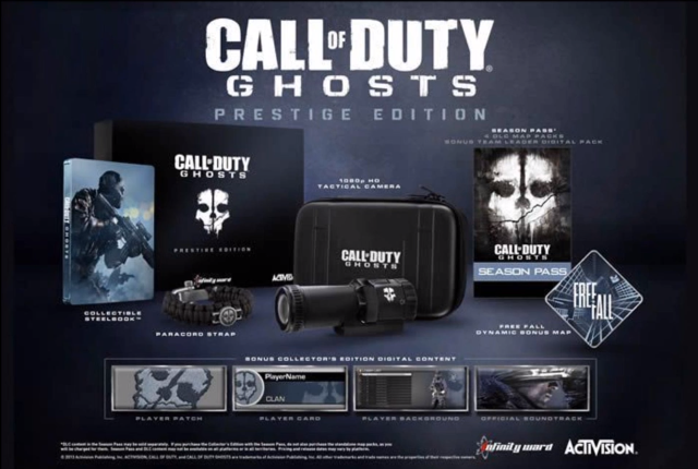 Boxart van Call of Duty: Ghosts Prestige Edition (Xbox360), Infinity Ward