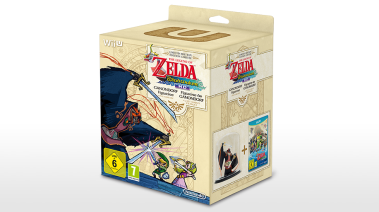 Boxart van The Legend of Zelda: The Wind Waker HD + Ganondorf Figurine (Wiiu), Nintendo