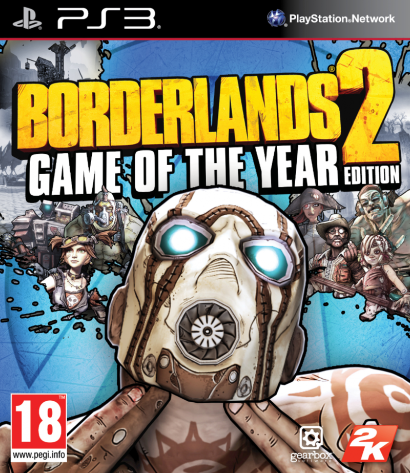 Boxart van Borderlands 2 Game of the Year Edition (PS3), Gearbox Software
