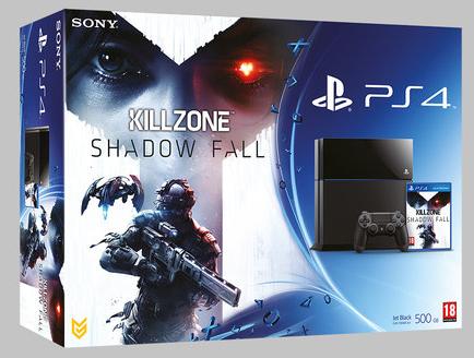 Boxart van PlayStation 4 (500 GB) + Killzone: Shadow Fall (PS4), Sony Computer Entertainment