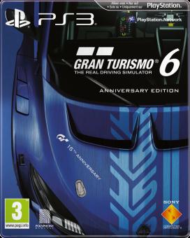 Boxart van Gran Turismo 6 Anniversary Edition (PS3), Polyphony Digital