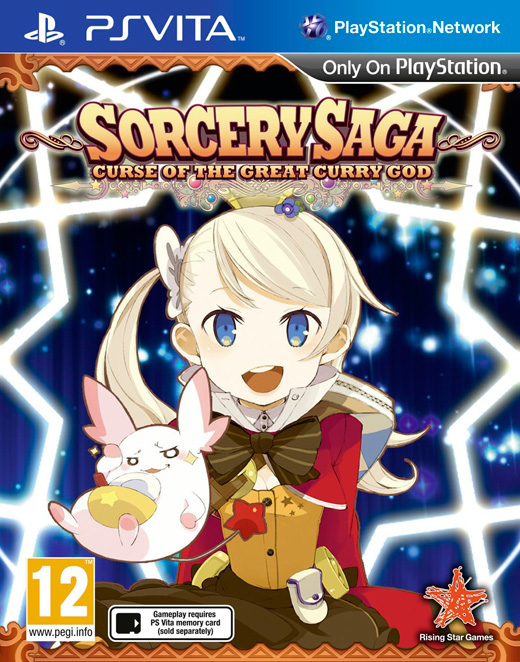 Boxart van Sorcery Saga: Curse Of The Great Curry God (PSVita), Compile Heart, ZeroDiv