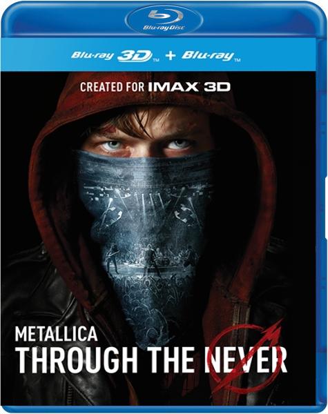 Boxart van Metallica - Through The Never (2D+3D) (Blu-ray), Metallica