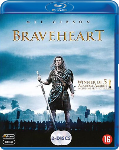 Boxart van Braveheart (Blu-ray), Mel Gibson