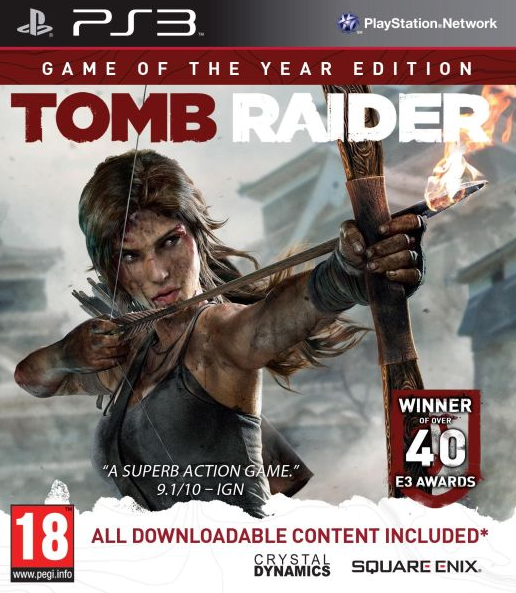 Boxart van Tomb Raider (2013) Game Of The Year Edition (PS3), Crystal Dynamics
