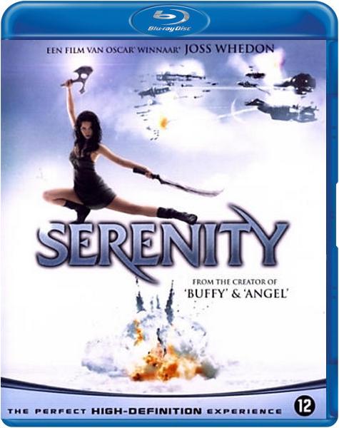Boxart van Serenity (Blu-ray), Joss Whedon