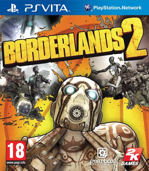 Boxart van Borderlands 2 (PSVita), Gearbox Software