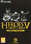 Boxart van Heroes of Might And Magic V (Gold Edition) (PC), Ubisoft