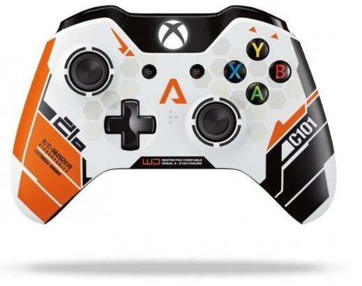 Boxart van Xbox One Wireless Controller Titanfall Limited Edition (Xbox One), Microsoft