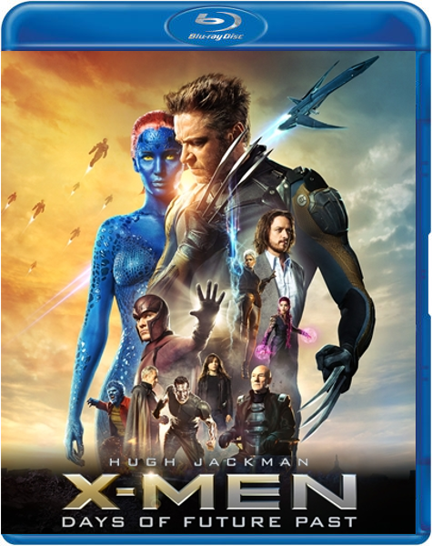 Boxart van X-Men: Days of Future Past (2D+3D) (Blu-ray), Bryan Singer