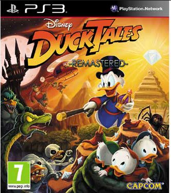 Boxart van Ducktales Remastered (PS3), Capcom