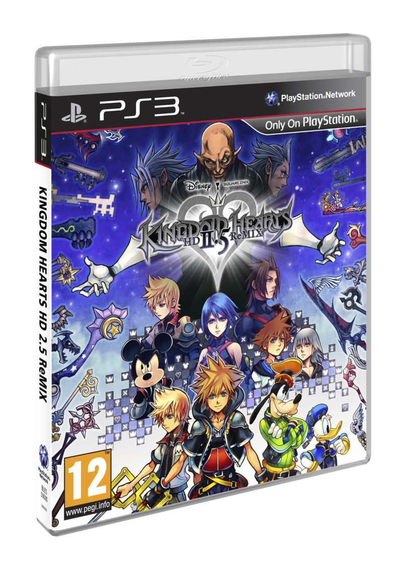Boxart van Kingdom Hearts HD 2.5 Remix (PS3), Square Enix