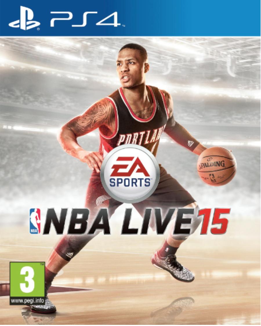 Boxart van NBA Live 15 (PS4), EA Sports